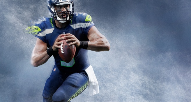 Russell Wilson Seattle Seahawks - Nike American Football NFL Team Kit