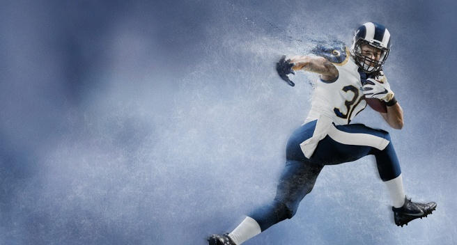 Todd Gurley Los Angeles Rams - Nike American Football NFL Team Kit.